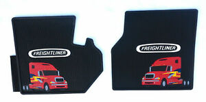 Freightliner Columbia Rubber All Weather Oem Floor Mats W Red Logo U S A Made