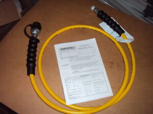 Enerpac Hc7206 Hydraulic Hose Assembly 1 4 In Inside Dia 6 Ft L