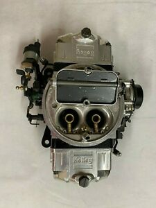 Holley 76750 1 750 Cfm Ultra Double Pumper Carburetor Electric Choke Black