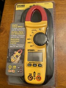 Sperry Instruments Digital Clamp Meter 17 Ranges 7 Functions Dsa500a With Bag