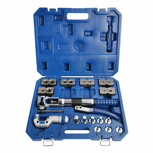 Wk 400 Universal Hydraulic Expander Flaring Tool Accurate Pipe Fuel Line Kit