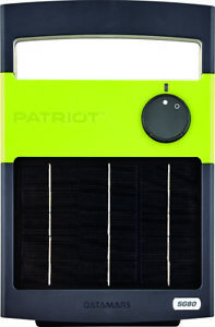 Patriot Solarguard 80 Solar Charger Energizer 12 Acres 3 Miles