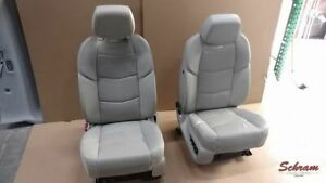 Escalade Esv 2019 Seat Set Front Buckets Tan Leather Oem 2007821