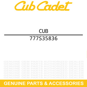 MTD 777S35836 Label Decal Fast Attach Bagger Multi L Cub Cadet Troy-Bilt $18.69