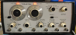 Wavetek Model 185 5mhz Sweep Function Generator Nice Tested Working