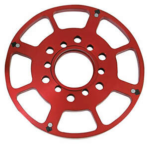 Msd 8611 Small Block Chevy 7 Crank Trigger Wheel Red