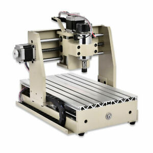 220v Cnc Router Engraver 4 Axis 3020 Engraving Milling Machine Woodworking New