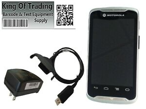 Zebra Tc55 Scanner Android Wifi Barcode Reader For Business W Snap On Charger