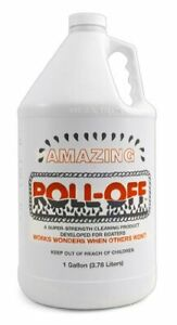 Roll off Cleaner stain Remover W unique Water Activated Solution Gallon Rogl