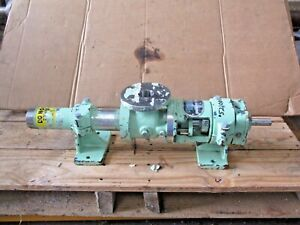 Continental 2cl3 Stainless Progressive Cavity Pump 2cl3 ssf 1 1 2 521008j