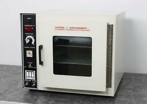Barnstead Lab line 3618 5 Digital Tabletop Vacuum Chamber Lab Oven W Shelves