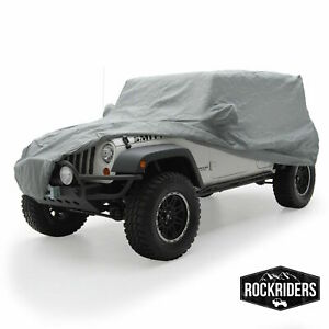 Smittybilt 835 Full Cab Cover W Lock Cable 2007 18 Jeep Wrangler Unlimited Jk