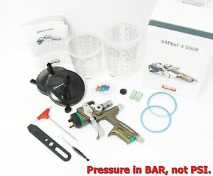New Sata Jet X 5500 Hvlp 1 3 Digital X I Nozzle Spray Gun 1062025 Bar Pressure