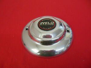 Weld Custom Wheel Center Cap Polished Aluminum 8 Diameter