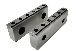 Pro Cnc Milling Steel Vise Hard Jaw 6 Wide Serrated Replaceable 0 100 Steps