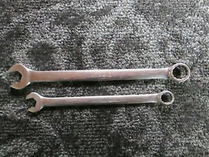 Lot Of 2 Matco Tools Wrench Rcl16m2 16mm And Rcl12m2 12mm f30