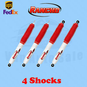 Rancho Kit 4 Front Rear Rs5000x Gas Shocks For Toyota Hilux 4wd 83 85