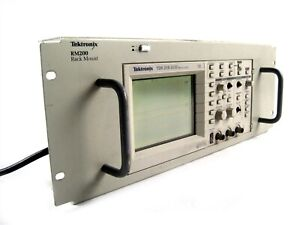 Tektronix Tds 210 Two Channel Digital Real time Oscilloscope W Rm200 Rack Mount