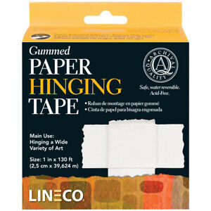 Lineco lineco Gummed Paper Hinging Tape 1 x130