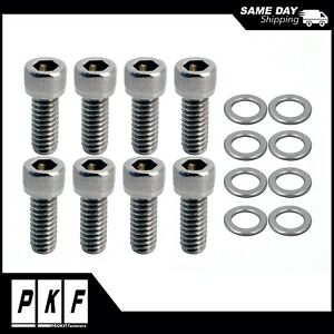 Sbc Valve Cover Stainless Steel Bolts For Small Block Chevy 283 327 350 383 400