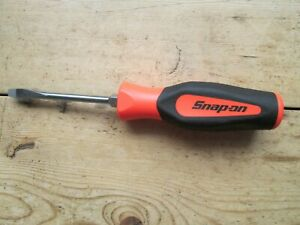 Snap On New Screwdriver Bright Orange 1 4 Sgd4b Premium New Tool