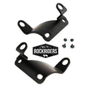 Soft Top Bow Brackets Passenger Driver Side With Hdw 1997 2006 Jeep Wrangler