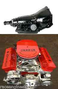 383 Stroker 700r4 Combo 525hp Roller Turn Key Chevy Crate Engine Looook