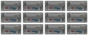 Cruiser 73200 License Plate Cover Tuf Bubble Shield Smoke Polycarbonate 12 Pack