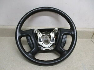 07 08 Avalanche Suburban Yukon Silverado Steering Wheel Cruise Control Leather
