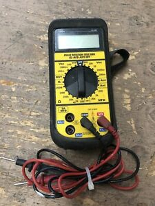 Ideal 61 361 Phase Rotation True Rms Hz mfd auto Off Tester