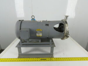 Gh Products Ghc 1 162 7 1 2hp 3450 Rpm 208 230 460v Sanitary Pump Motor Package