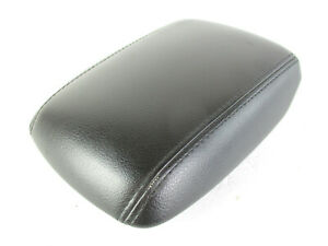 Ford Focus Center Console Arm Rest Lid Top Pad Cover Black Leather 15 18