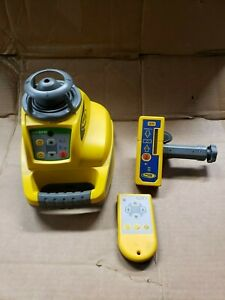 Trimble Spectra Hv301g Rotary Laser Level Green Beam