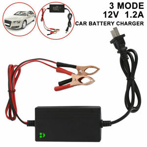 Car Battery Maintainer Charger 12v Rv Portable Auto Trickle Boat Motorcycle