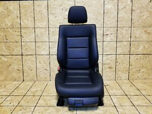 10 11 12 13 Mercedes W212 E350 Front Left Driver Seat Black Leather Oem 39k