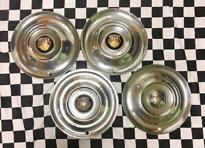 1950 1953 Oldsmobile Super 88 Starfire 15inch Wheel Hub Caps Gm