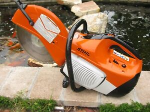 Stihl Ts420 Gasoline Concrete Saw W 14 Diamond Disk