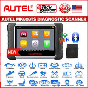 Autel Mk808ts Bluetooth Tpms Diagnostic Tool Service Car Obd2 Scanner All System