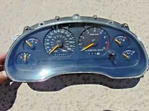 1996 97 Ford Mustang Gt Gauge Cluster 150 Mph Sn95 219490k New Gears Installed