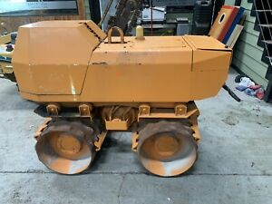 2005 Rammax P33 24 Trench Roller Diesel Padfoot Ditch Vibratory Wacker