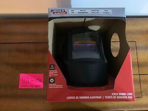 Lincoln Electric K3057 1 Auto darkening Fixed Shade Lens Welding Helmet A6