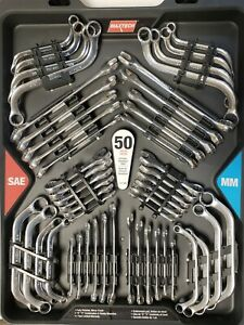 Maxtech Set 50 Pieces Tools Made With Chrome Vanadium Special Steel