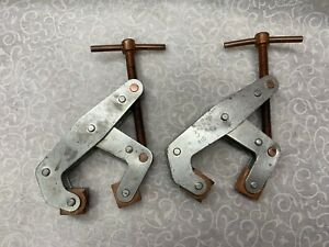 Pair Of 3 Kant twist 410 Machinist Welding Clamps Made In Usa