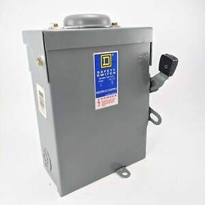 Du322rb Square D Safety Switch 60 Amp 240v 3pst 3r Outdoor Disconnect