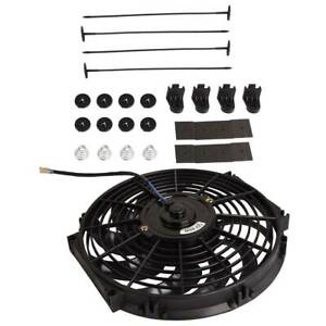 12 inch 80w 12v Universal Slim Push Pull Electric Radiator Cooling Fan Kit