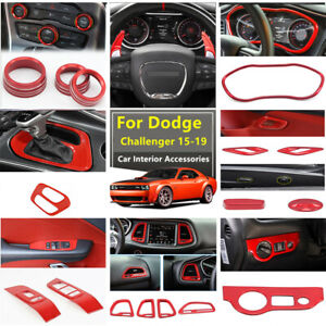 Interior Car Accessories Decoration Trims For Dodge Challenger Charger 2015 2019