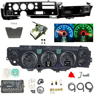 70 72 Chevelle Super Sport Ss Dash Conversion Kit Dakota Digital Hdx 70c Cvl K
