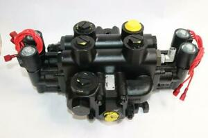 Parker Hydraulics 13 X 9 Valve Manifold Solenoid Operated Beast