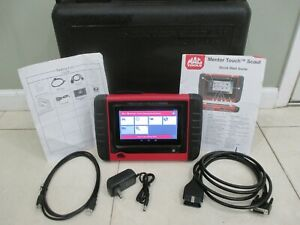 Mac Mentor Touch Scout Diagnostic Full Function Scanner All Cars Activated
