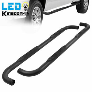 Nerf Bars For 1999 2018 Chevy Silverado Sierra Extended Cab 3 Side Steps Lh Rh